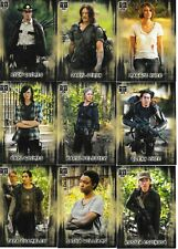 MINT WALKING DEAD SET HUNTERS and The HUNTED, 100 CARD SET.