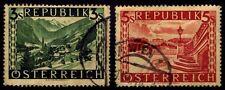 1946 Austria - Durnstein Lower Austria #480-81 - Used - F/Vf+ - $9.00 (Esp#2231)