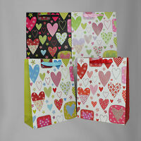 Valentine Gift Bags Medium, 12 Piece