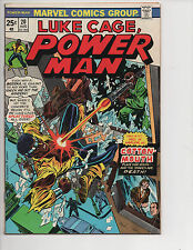 Luke Cage, Power Man #20 (8/74) FN (6.0) 2nd Cotton-Mouth! Great Bronze Age!