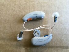 Pair Of Signia 7nx Digital Hearing Aids. Wireless Technology iPhone Compatible.