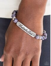 "Paparazzi Inspirational🔥 Keep the Trust ~ ""Trust in the Lord""🔥Purple Bracelet"