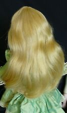 29cm  HUMAN HAIR DOLL WIG FOR ANTIQUE DOLL, DOLLMAKING, VINTAGE DOLL