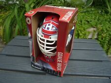 Rare Riddell Mini Goalie Mask Montreal Canadiens Habs NEW
