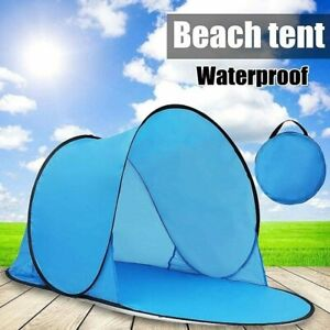 Tent Pop Up UV Beach Camping Open Automatic for 1-2 Person Outdoor Portable