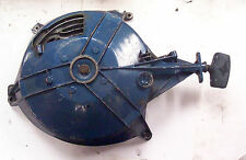 Recoil starter assembly from 35 HP Evinrude outboard motor 1957