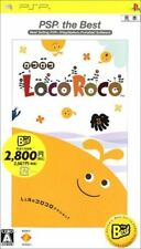 Used PSP LocoRoco PSP the Best  SONY PLAYSTATION JAPAN IMPORT