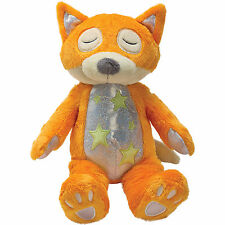 Suki Gifts Bedtime Buddies Orange Fox Glow in the Dark Soft Plush Toy