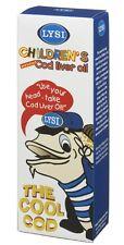 Fish/Cod Liver Oil Liquid - LYSI CHILDREN'S COD LIVER OIL - From Birth Onwards