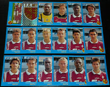 PANINI FOOT 96 FC METZ ST SYMPHORIEN LORRAINE COMPLET FOOTBALL SAISON 1995-1996