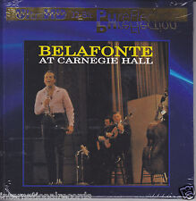 """Harry Belafonte At Carnegie Hall"" Limited Numbered #0043 UltraHD UHD CD USA New"