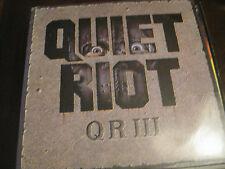 Quiet Riot; QR III on LP