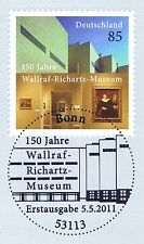 BRD 2011: Wallraf-Richartz-Museum nr 2866 con Bonner solo tag-timbro speciale! 1a!