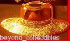 JEWELS BY PARK LANE FASHION JEWELRY - FEDORA HAT GOLDTONE PIN