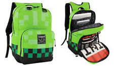 """Official JINX Minecraft Childrens/Kids CREEPER 18"""" Backpack"""