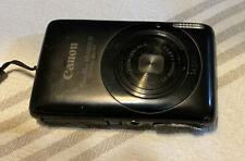 Canon PowerShot Digital ELPH SD1400 IS 14MP Digital Camera - Black + Box + Card