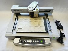 Roland Egx 30a Desktop Rotary Engraver With Power Cord 12 X 8 Work Area