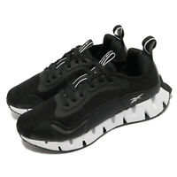 Reebok Zig Dynamica Int Black White Men Running Jogging Sports Shoes FY9677