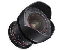 Samyang 14mm T3.1 Cine VDSLR II Wide Angle Lens for Canon EF EOS