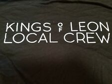Kings of Leon Tour 2017 Local Crew T-shirt Size Xl