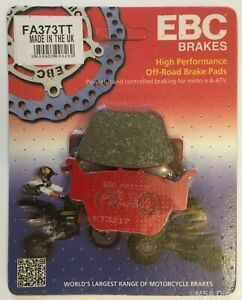 "EBC ""TT"" Organic REAR Disc Brake Pads (FA373TT) Fits HONDA TRX420 (2014 to 2019)"