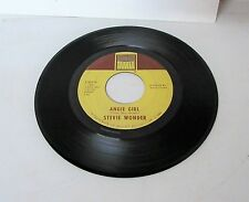 STEVIE WONDER 45  For Once In My Life / Angie Girl