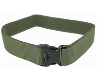 Cinturone Tattico Militare OD GREEN Softair Sgancio Rapido VERDE robusto ottimo