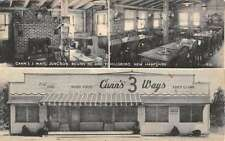 Hillsboro New Hampshire Canns 3 Ways Multiview Antique Postcard K43137