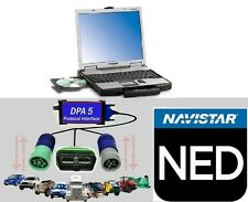 Navistar Engine Diagnostics Software, Panasonic Toughbook CF-52 & DPA-5 Adapter