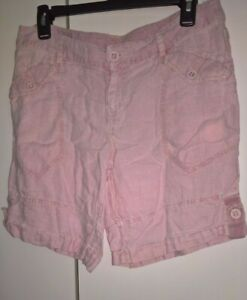 Victoria Secret Moda Internacional linen shorts size 10 women