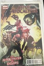 Age of Apocalypse 2012 Series #2 June 2012 Marvel X-Men Signed by Humberto Ramos
