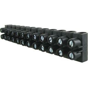 barrette domino 16 mm²  30A 250V PRIX CHANTIER