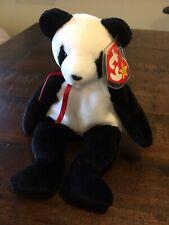 """Ty Beanie Baby """"Fortune"""" Panda Bear Retired 12/6/1997"""