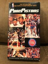 Pure Pistons VHS - Official 1990 NBA Championship Video