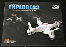 YUXIANG 668 Q7C 2.4G Mini Drone 2MP Quadcopter Plane Helicopter SD Card IR RC