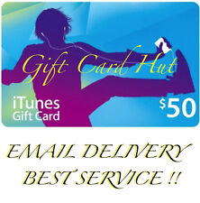 Apple $50 iTunes US Gift Card Karte Code Voucher Certificate USA Dollar FAST
