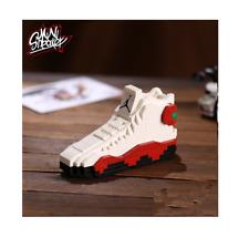 NEW 3D Shoes Building Blocks Bricks AJ13 Jordan Basketball Chicago MJ 2019 W