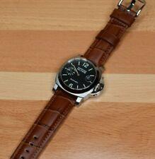 Parnis 40mm Automatic Mechanical Wrist Watch Black Dial Marina Militare USA Ship