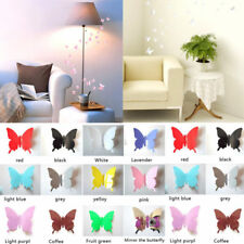 12Pcs 3D Butterfly Wall Sticker on the wall for Home Room Decoration Hot Sale