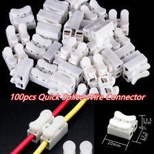 100Pcs Auto Electrical Cable Wire Connectors Quick Splice Self Locking Terminal