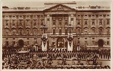 BR61762 procesion leaving buckingham palace lonodn real photo uk military