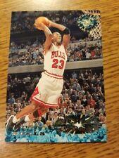 1995-96 Topps Stadium Club #1 Michael Jordan  Chicago Bulls, HOF