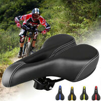 Comfort Wide Cruiser Bike Saddle Seat Soft Cushion Pad Breathable Bicycle Seat
