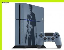 Uncharted Limited PS4 Game console set Gray blue Dualshock4 Sony Japan