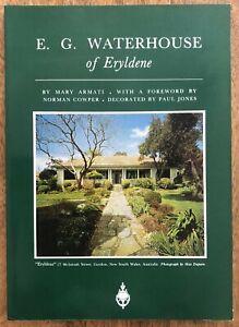 E. G. Waterhouse of Eryldene by Mary Armati Paperback Biography Gordon Sydney