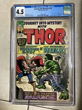 Journey into Mystery 112 CGC 4.5 OW to W Thor vs Hulk key 3 Day Auction