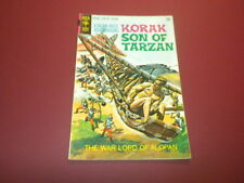KORAK - SON OF TARZAN #34 Gold Key Comics 1970 EDGAR RICE BURROUGHS jungle