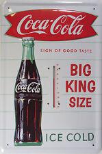 Coca-Cola Sammler-Werbeschilder