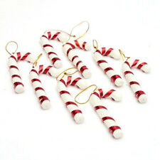 12X Candy Cane Xmas Tree Trim Hanging Ornament Christmas Baubles Decors 7cm/2.8""