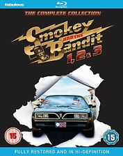 Smokey and the Bandit 1, 2 & 3 - The Complete Collection - Blu ray NEW & SEALED
